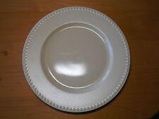 "Dansk Japan RONDURE WHEAT Set of 5 Dinner Plates 10 7/8"" Beads Yellow Rimmed"