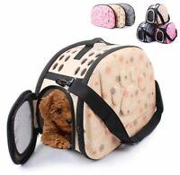 76  Panier de transport chien-chat-chiot-cage-pliable-sac-Portable-voyage-caisse