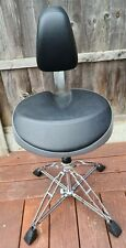 More details for pearl roadster drum throne with backrest