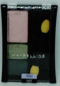 1 Maybelline Expert Wear Perfect Pastels Trio Eye Shadow GREEN GARDENS #216
