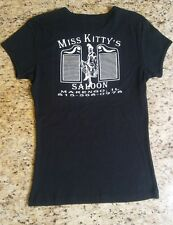 Bella Womens Size M Miss KItty Saloon Graphic T - Shirt