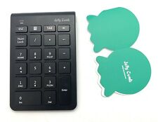 Pad Number Wireless Numeric Keypad Keys Keyboard Extension Usb Digital Black
