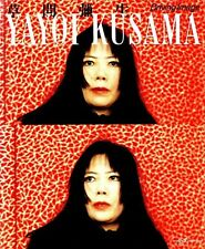 "Yayoi Kusama "" Driving Image "" Vintage Photo Art Book 1986 years Limited Version"