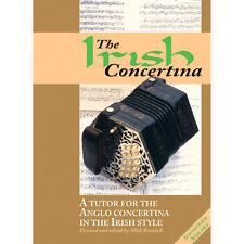The Irish Concertina Book Only - Mick Bramich