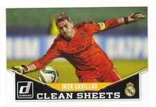 2015 Panini Donruss Soccer Clean Sheets #5 Iker Casillas Real Madrid