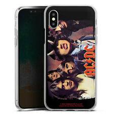 Apple iPhone Xs Silikon Hülle Case - ACDC HIGHWAY