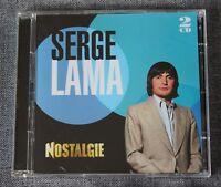 Serge Lama, nostalgie - best of, 2CD