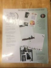 Creative Memories 12x15 RCM 15s White Scrapbook Refill 30 Pages 15 Sheets