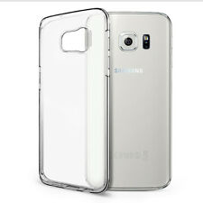 Samsung Galaxy S7 EdgeTransparent Silicon Back Cover Hoesje