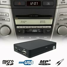 Car Kit Stereo USB SD AUX MP3 Player CD Changer Adapter LEXUS GX RX 2004-2009