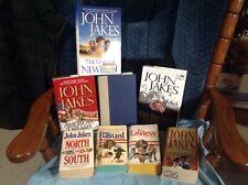 "JOHN JAKES LOT/15 MIXED ""DREAMS SERVICE GODS BASTARD NORTH LAWLESS HOMELAND+++++"