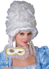 Maria Antonietta Ballo in Maschera Parrucca Costume Cenerentola Bianco Vittoriano Film