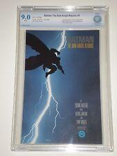 Batman: The Dark Knight Returns 1 (1986) CBCS Graded 9.0 (Similar to CGC)