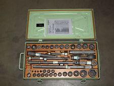 """Steckschlüsselsatz  Edelstahl Werkzeug Steckschlüssel Antrieb 1/2"""" 3/4"""" Bund Bw"""