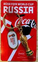 Keychains Trophy Coca-Cola FIFA WC 2018 football soccer