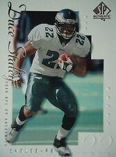 NFL 63 Duce Staley Philadelphia Eagles TOPPS 2000 SP Authentic