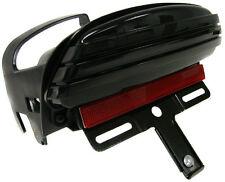 Tri-Bar Fender LED License Plate Bracket Tail Light For 08+ Harley Dyna Fat Bob