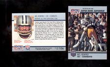 1990 Pro Set MIKE RENFRO Dallas Cowboys Super Bowl XXV LYNN SWANN Card