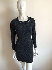 Ladies/ Womens/ Girls Designer Tg Clothing Stud Dress Top T-shirt Size 12 New