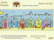 BOTHY THREADS BEACH HUT FUN COUNTED CROSS STITCH KIT 37x15cm XJR19 - NEW