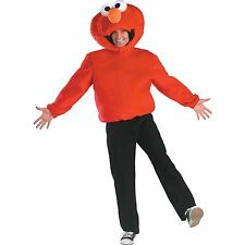 Adult 42-47 Mens TV Show Sesame Street Elmo Tickle Me Dress Up Costume