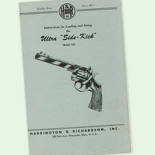 Harrington & Richardson Gun Manuals for sale | eBay