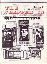 THE WRAPPER #71 - 1988 Non-sports cards fanzine - JETS ROCKETS SPACEMEN cards