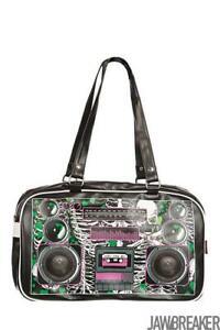 Jawbreaker Womens Boombox Zombie Bag  Alternative Gothic