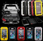 STEALTH SAMSUNG GALAXY S5 METAL WATERPROOF DIRTPROOF SHOCK PROOF LIFE PHONE CASE