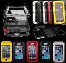 STEALTH METAL WATERPROOF DIRTPROOF SHOCK PROOF LIFE HARD CASE FOR IPHONE 6 & 6S
