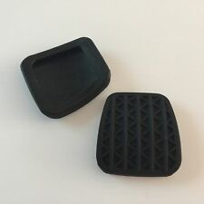 2 x Black Clutch Or Brake Pedal Pad Rubber Cover For Astra H MK5 OEM 90498309