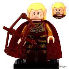 Custom Haldir of Lorien LOTR Minifigure fits with Lego pg509 UK Seller Hobbit