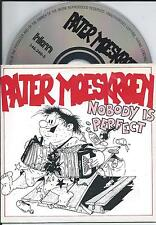 PATER MOESKROEN - Nobody is perfect CD SINGLE 2TR CARDSLEEVE 1992 (HKM) Holland