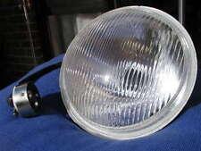 """new 7"""" Lucas type HEADLIGHT BEAM UNIT+main +pilot bulb holder + 12 or 6v bulbs"""