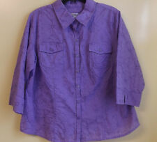 CROFT & BARROW Ladies Shirt ( Blouse )  Size PXL / NWT