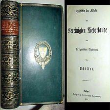 1868 HISTORY 30 YEARS WAR & REVOLT OF NETHERLANDS FRIEDRICH SCHILLER MILITARY
