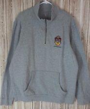 Antigua LS Pull-Over Men's Sweater, BCS Nat.Champ. 2011 (L, Gray, Oregon Ducks)