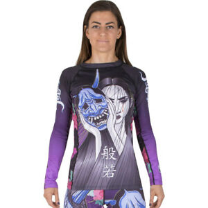 Tatami Ladies Weeping Hannya Long Sleeve BJJ Rashguard