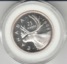 1965 Canada 25 cents Silver Proof Cameo