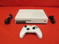Xbox One S 500GB Console With Power Cord And HDMI Cable Only Very Good 4436