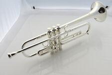 Professional Heavy trumpet Bb key Professional Yellow brass body  +case
