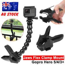 Accessories Jaws Flex Clamp Mount Clip + Adjustable neck For Gopro Hero 5 4 3+ 2