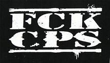 FCK CPS Patch / Aufnäher NEU 1,20€ FUCK COPS Punk Oi! Skinhead HC AC/AB A C A B
