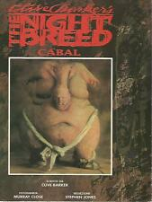 X52 Clive Barker's The night breed cabal Ed. Play Press