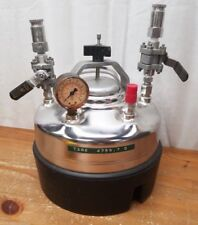Alloy Products T316 140PSI Pressure Tank Vessel w/ Gauges Valves Nice Condition