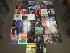 "Lot (44) 1980's Rock/Pop/New Wave 12"" Vinyl Cars,Asia,Elton John,Reo,Genesis,Who"