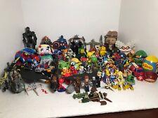 Junk Drawer Lot of 70 Toys Star Wars McDonalds Mattel Hasbro Marvel Pokemon TMNT