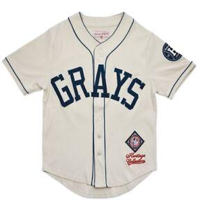 Homestead Grays Men's Heritage Jersey Ivory