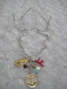 "BRIGHTON ""Maritime Ocean"" (27""L.) Nautical Charm Necklace"