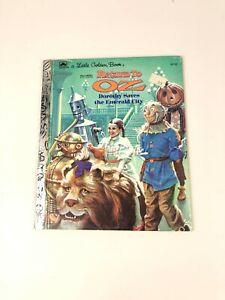 Vintage Little Golden Book RETURN TO OZ 1985